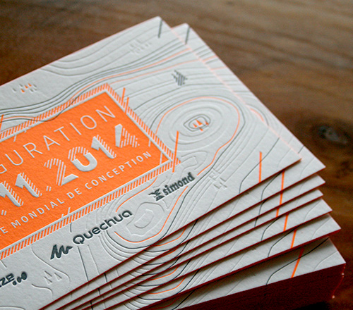 several invitations