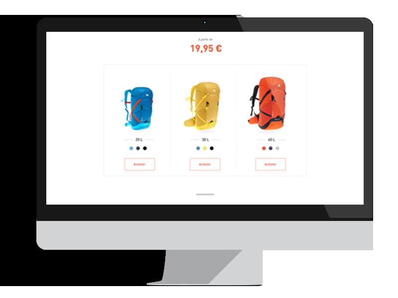 mockup range backpack